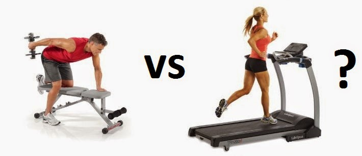 cardio or weight training