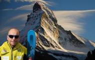 60-летний горный гид из Италии спустился на лыжах с двух сторон Маттерхорна
